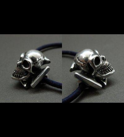 画像5: Skull On Iron Cross Hair Band