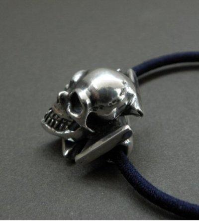 画像2: Skull On Iron Cross Hair Band