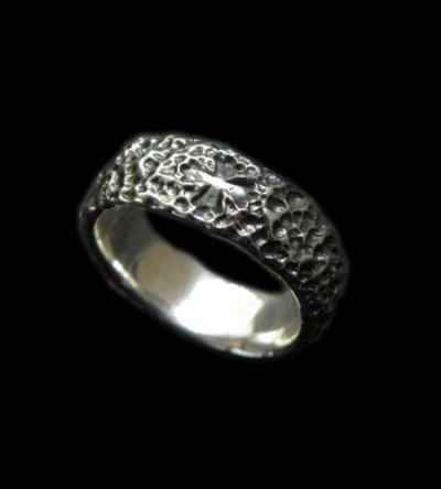 画像1: Chiseled H.W.O Ring