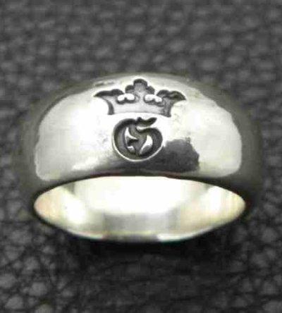 画像4: Large Smooth H.W.O Ring