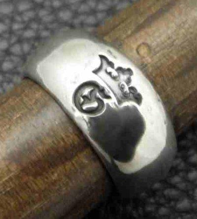画像5: Large Smooth H.W.O Ring