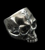 Medium Large Skull Ring Without Jaw