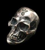 Medium Large Skull Ring with Jaw