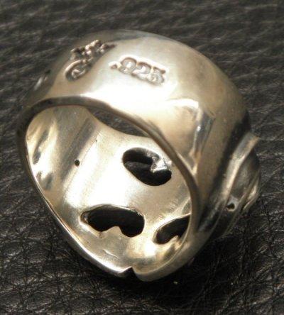 画像2: Medium Battle-Ax Oval Roll Ring