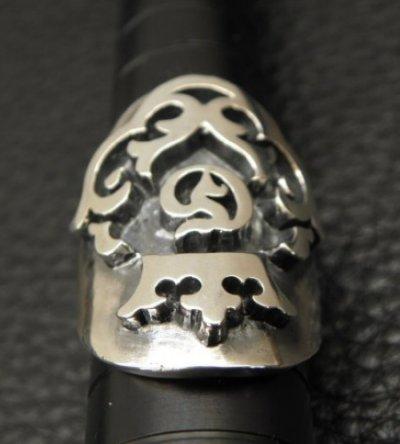 画像2: Large Raised Atelier Mark Ring