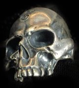 Large Skull Ring Without Jaw