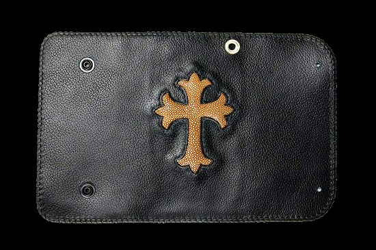 画像3: Stingray Cross Inlay Buffalo Long Wallet
