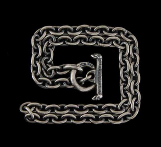 画像2: 7Chain & Half T-bar Necklace