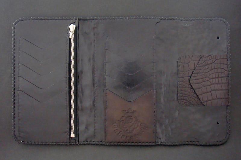 画像4: Crocodile Horn Back Long Wallet