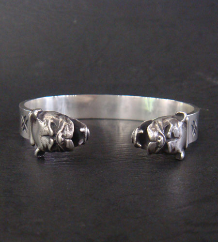 画像4: Half Bulldog Flat Bar Bangle