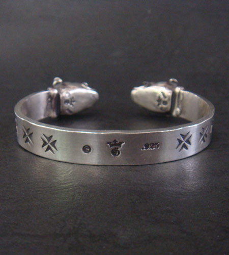 画像3: Half Bulldog Flat Bar Bangle