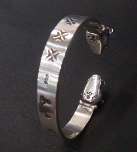 画像5: Half Bulldog Flat Bar Bangle