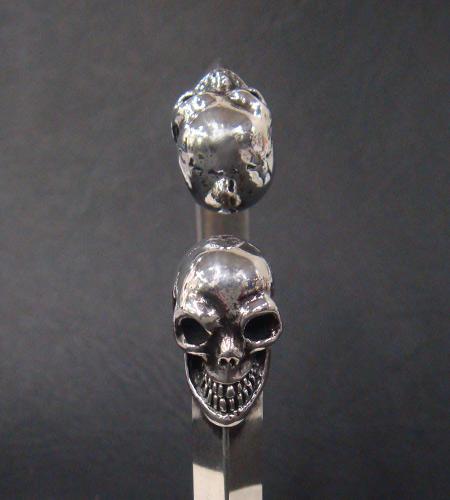 画像3: Skull Triangle Wire Bangle