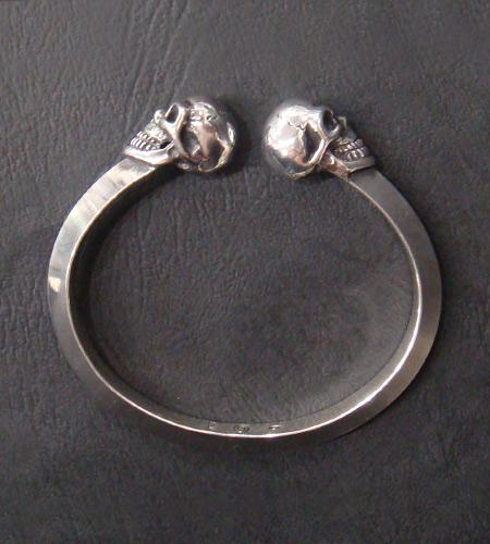 画像5: Skull Triangle Wire Bangle