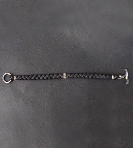 画像4: Half H.W.O braid leather bracelet