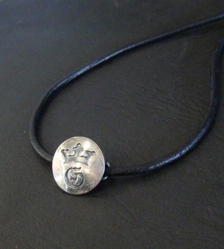 画像3: G&Crown Button Leather Hair Band
