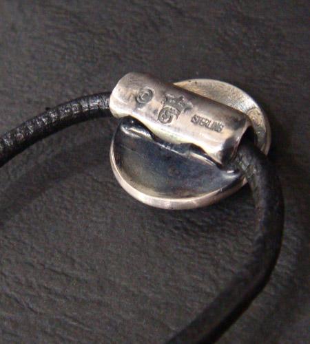 画像5: G&Crown Button Leather Hair Band