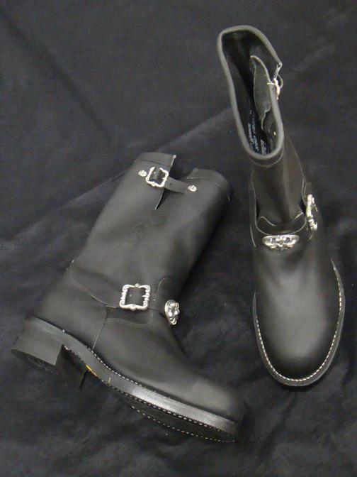 画像4: Long Boots with Cross Oval