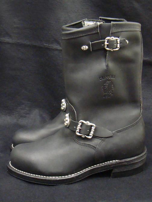 画像2: Long Boots with Cross Oval
