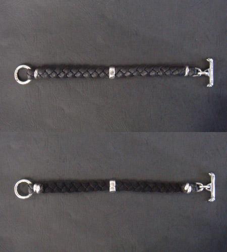 画像4: H.W.O braid leather bracelet