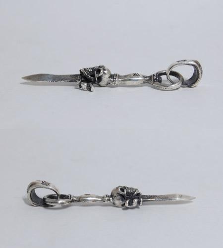 画像5: Quarter Dagger With Skull Pendant With H.W.O