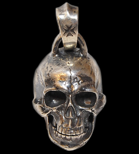 画像1: Large Skull Head Pendant