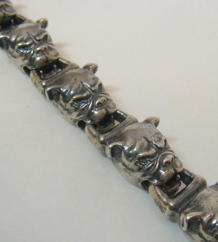 画像3: All Bulldog Links Bracelet
