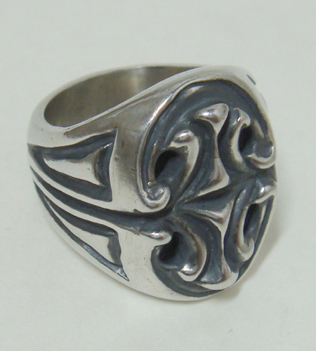 画像3: Sculpted Oval Signet Ring