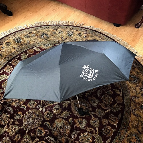 画像1: Gaboratory Atelier mark Folding Umbrella