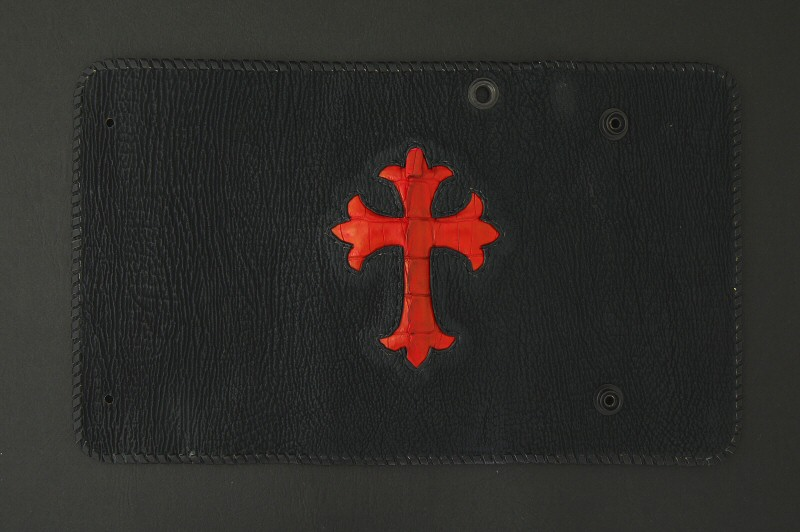画像3: Crocodile Cross Inlay Shark Long Wallet