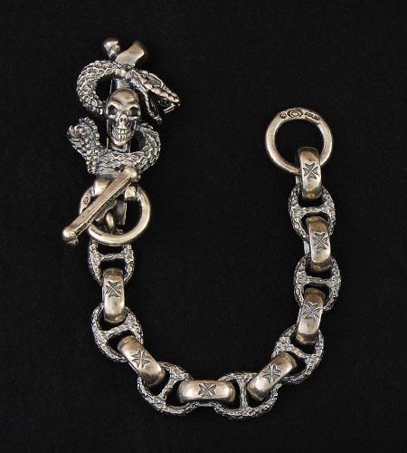 画像5: Skull On Snake Keeper
