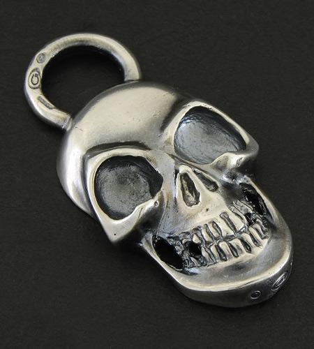 画像3: Giant Skull With Loop Pendant