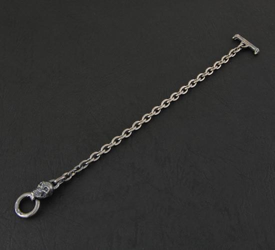画像4: Quarter Skull Quarter Chain Bracelet