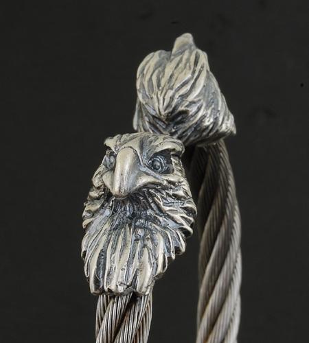 画像4: Eagle Cable Wire Bangle