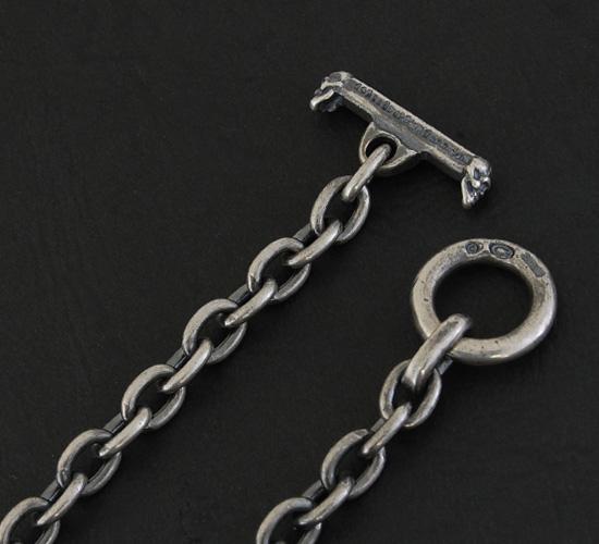 画像5: Quarter 4 Heart Chiseled Cross With Half 2 Skulls Chain Necklace