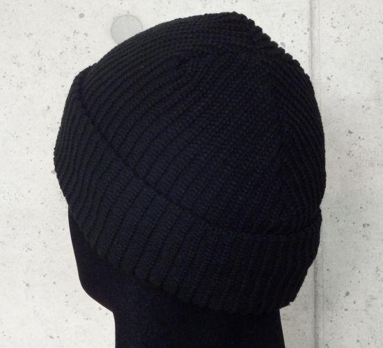 画像4: Atelier mark watch cap (Black)