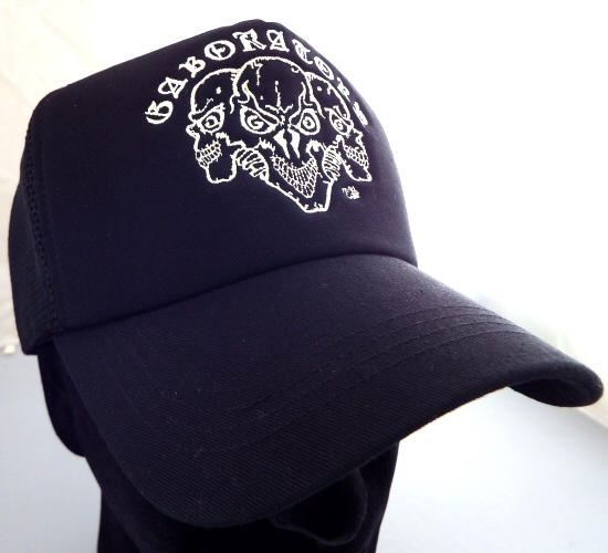 画像3: Triple Skull Mesh Cap (Snap-back)
