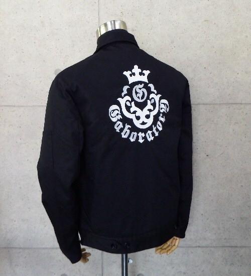画像2: Gaboratory Embroidery Work Jacket (刺繍)