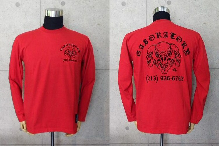 画像1: Staff T-Shirt [Red]