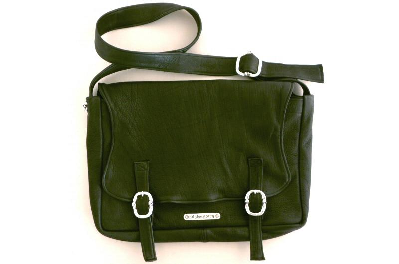 画像1: Gaboratory Soft Leather shoulder Bag [20inc]