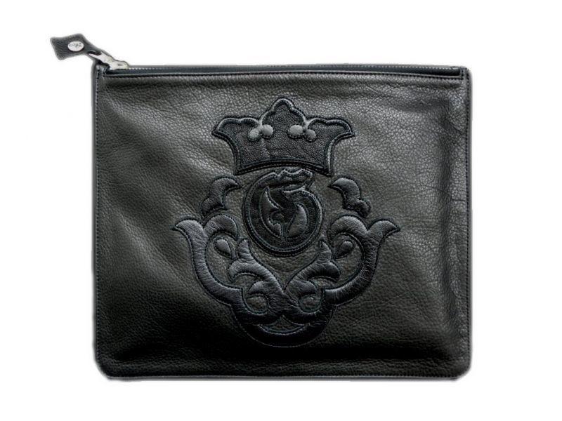 画像1: Gaboratory Clutch bag (Elephant inlay)