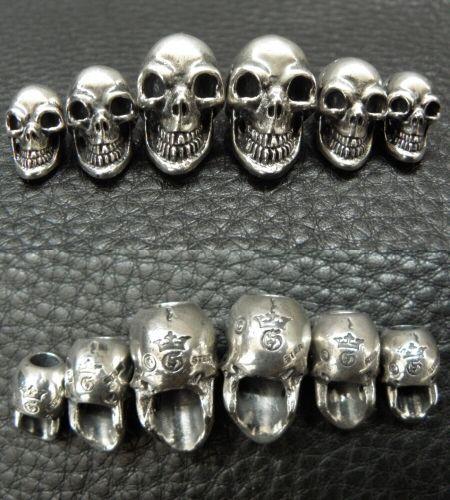 画像2: Single Skull Beads