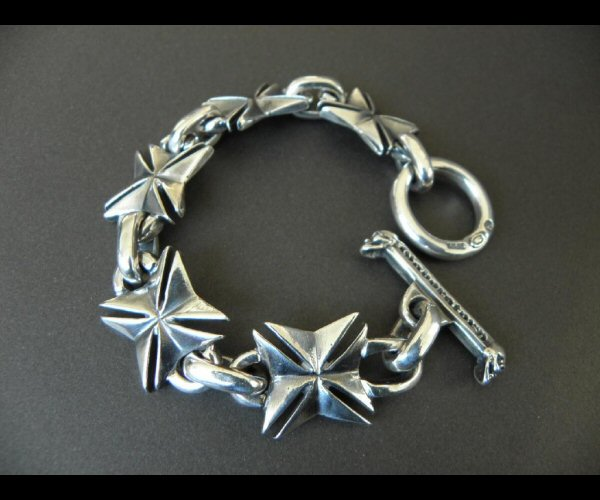 画像4: All Maltese Cross Links Bracelet