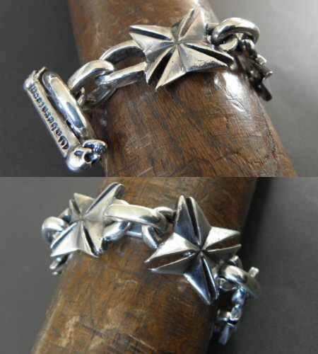 画像5: All Maltese Cross Links Bracelet