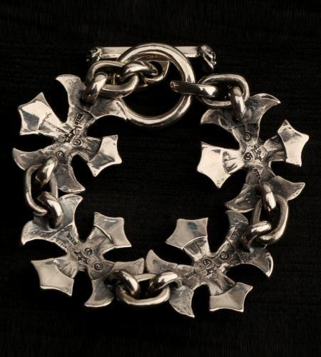 画像2: Gothic Cross Links Bracelet