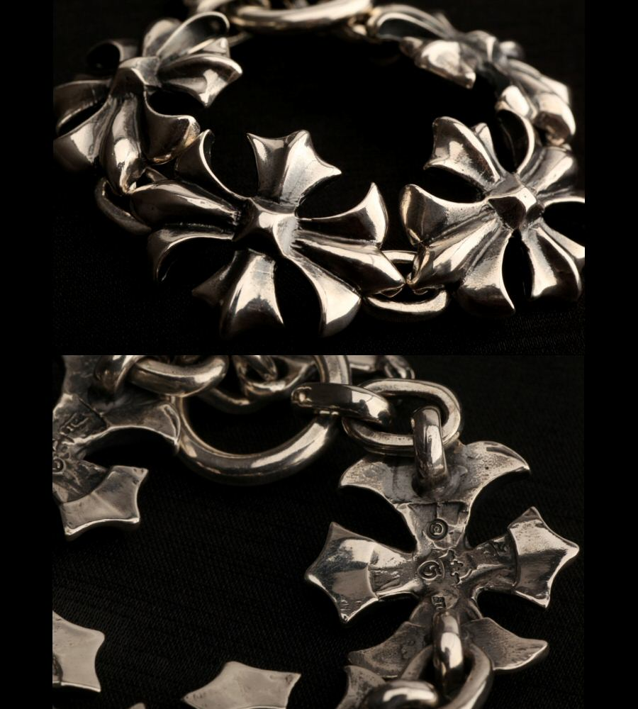 画像4: Gothic Cross Links Bracelet