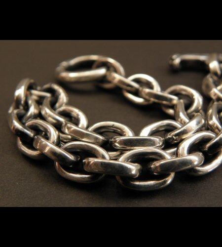 画像4: Half Small Oval Chain Bracelet