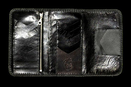 画像4: Stingray Cross Inlay Buffalo Long Wallet