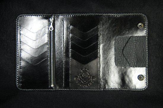 画像4: Frog G&Crown Inlay Shark Long Wallet