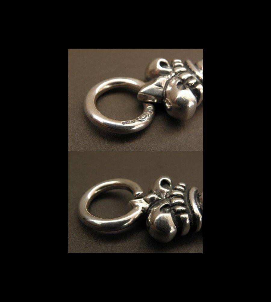 画像4: Skull Large Crown Loop Hook Key Keeper